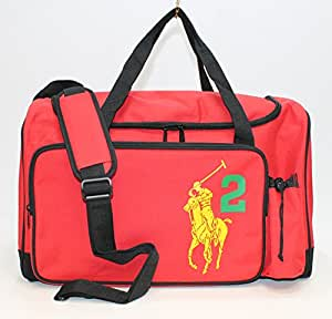 Ralph Lauren White Big Pony Sporty Casual Luggage