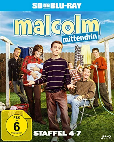 Malcolm mittendrin - Staffel 4-7 (SD on Blu-ray)
