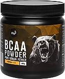 nu3 BCAA en polvo - 400 g sabor tropical - 40 porciones de aminoácidos ramificados -...