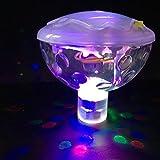Schwimmende LED-Licht Disco Aqua Glow Leuchtmittel Bad, Spa, Pool Badewanne Kind Spielzeug