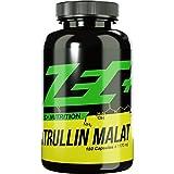 ZEC+ L-Citrullin Malat - 180 Kapseln, Pre Workout Aminosäure, verbesserte Durchblutung der Muskulatur steigert Pump und Leistungsfähigkeit, 1000 mg L-Citrullin-Malat pro Kapsel
