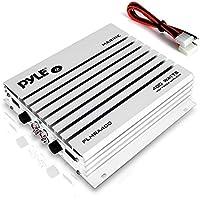 Pyle PLMRA400 - Amplificador impermeable de 4 canales, 400 vatios, plateado