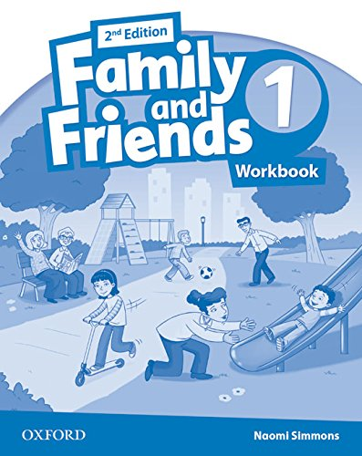 Family & Friends 1: Activity Book 2ª Edición (Family & Friends Second Edition) - 9780194811101 por Naomi Simmons