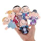 #4: Twisha Family Finger Puppet Set of 6