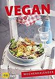 Vegan Kochen & Backen - Wochenkalender 2017 - Wandkalender mit 53 Rezepten - 21 cm x 29,7 cm