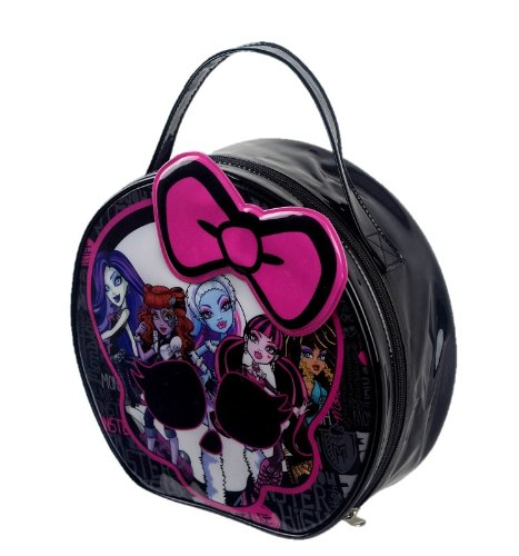 Image of MONSTER HIGH! CREEPY COOL COSMETIC BAG! LITTLE GIRL MAKEUP XMAS GIFT!