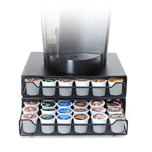 Mind Reader 'Jumbo' für 72 Dolce Gusto / Keurig K-Cup / Verismo / CBTL Kapseln, Kaffee Pod Storage Schublade (Schublade-storage-office)