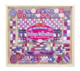 #4: Melissa & Doug Deluxe Collection Wooden Bead Set, Multi Color
