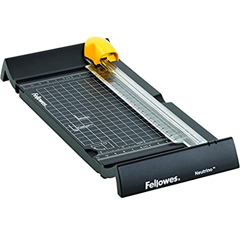 Fellowes 5412701 Neutrino Rotary Trimmer with SafeCut Blade - Multicoloured