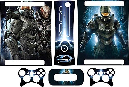 xbox-360-protezione-halo-4-adesivi-in-vinile-console-controller-stampato