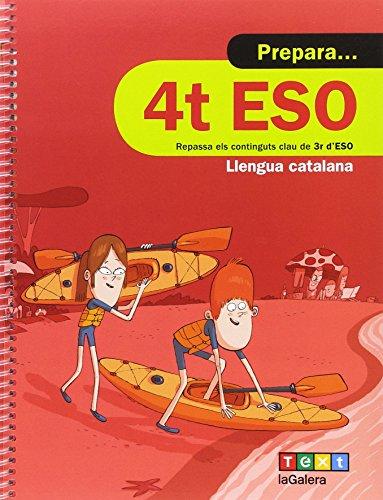 Prepara 4t ESO Llengua catalana (Quaderns estiu) - 9788441230385