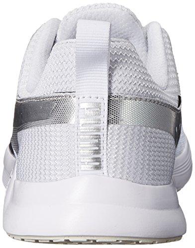 Puma Pulse Xt Metallic Lauf Sneaker White/Silver Metallic