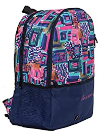 """POLE STAR """"Hero"""" Polyester 32 L Printed Casual Navy Blue Backpack"""