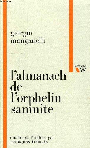 L'almanach de l'orphelin samnite