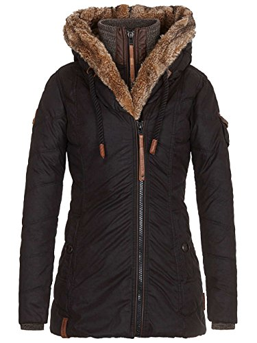 Naketano Damen Jacke Freemason Jacke, Medium,  Black