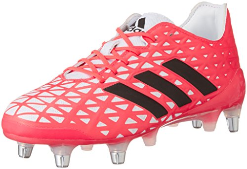 adidas Herren Kakari Light Sg Rugbyschuhe, Rot, UK