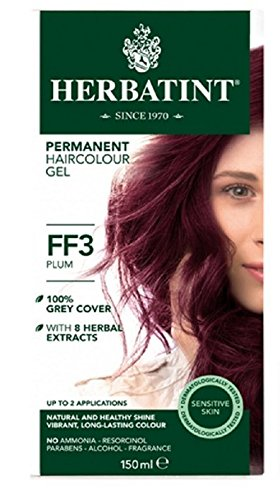 Herbatint Flash Fashion Hair Color, Plum, 4 Fluid Ounce by Herbatint