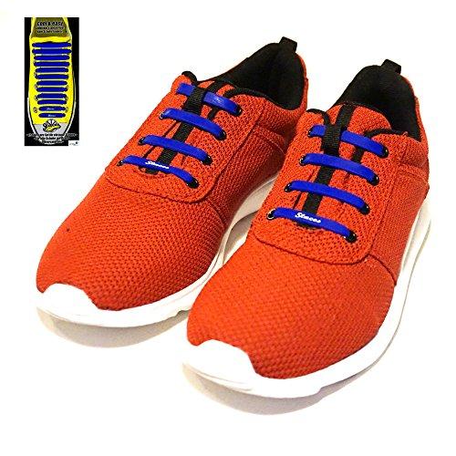the-original-slaces-glatte-oberflache-blau-unisex-slip-on-silikon-schnursenkel