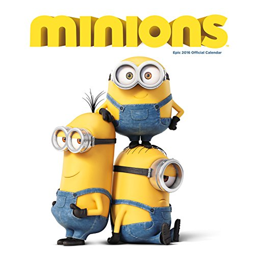 The Official Minions Movie 2016 Square Wall Calendar