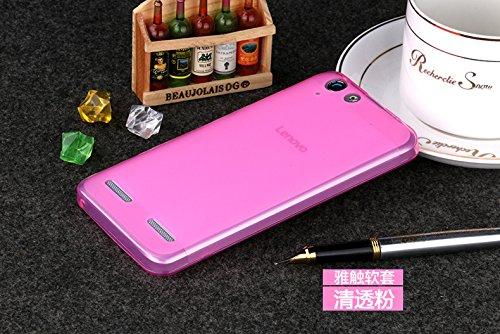 Best Deals - Premium Silicon Soft Back Case Cover for Lenovo Vibe K5 Plus / Vibe K5 / Lemon 3 - Pink