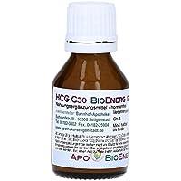 HCG BioEnerg Globuli - 20 g - preiswerte Kurpackung - hormonfrei - aus deutscher Traditionsapotheke