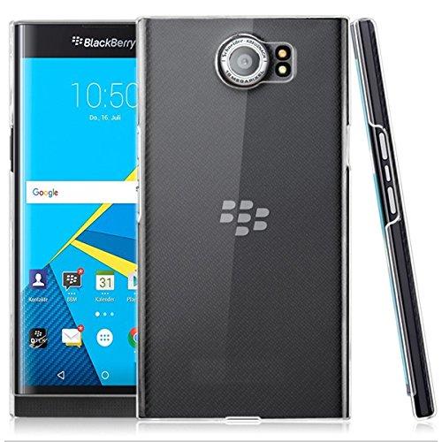 Blackberry Priv 4G/LTE PROTEKTOR case TPU transparent Tasche Hülle - Zubehör Etui cover Blackberry Priv clear - XEPTIO accessoires