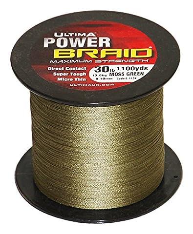 Ultima E1184 Power Braid Super Strong Micro Braid Fishing Line