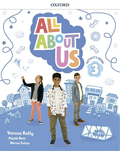 All About Us 3. Activity Book por Varios autores