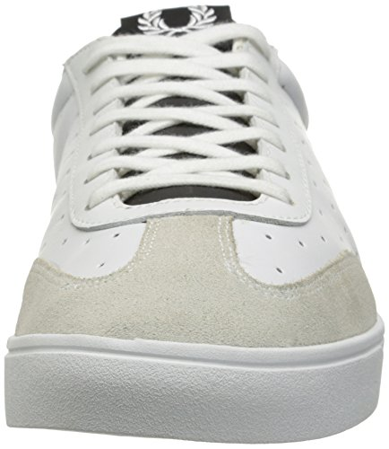 Fred Perry Umpire Leather White Blanc