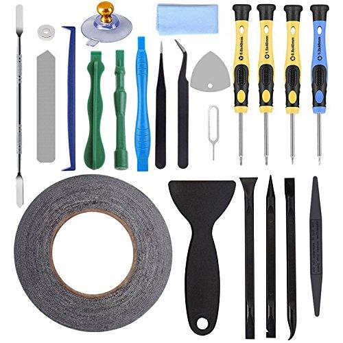Autopkio kit 23 in 1 corredo di riparazione tool set per iphone strumenti di riparazione cacciavite per smartphone iphone 7 ipad huawei samsung kit di riparazione