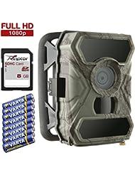 SecaCam RAPTOR Caméra de chasse Full HD de 52 degrés | Caméra de surveillance infrarouge - Pack Premium
