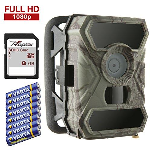 SecaCam RAPTOR Caméra de chasse Full HD de 52 degrés | Caméra...