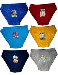 Hap Boy's Brief/Kids Innerwear/Pack of 6