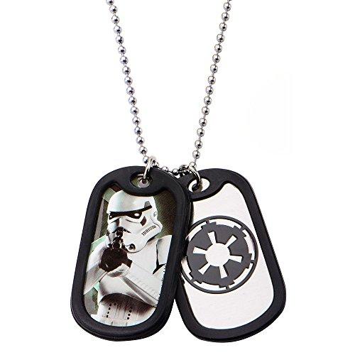 Star Wars Empire Dog-Tag Kette mit 2 Anhängern Metall -
