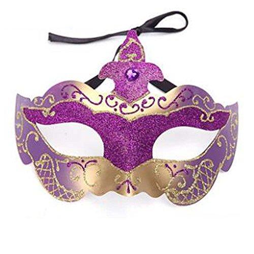 der Halloween Maske Maskerade Kostüm Maske handgefertigt (18x12 cm) ()