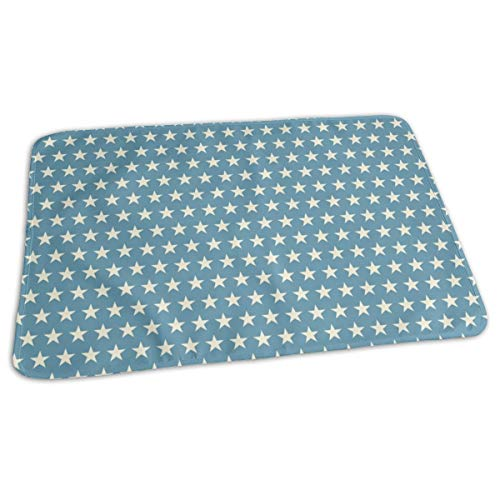 stume Dog Vampire Ghost Mummy Light Baby Portable Reusable Changing Pad Mat 31.5x21.5 inches ()