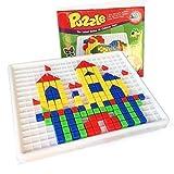 Itian Costruzioni Giocattolo di Puzzle Giocattoli 420 Pezzi Mattoni Plastica con Scatola Gioco Educative per Bambini da 3 Anni in su