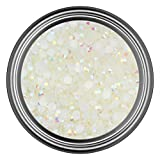 5MM - 250 Pieces : AB White Resin Rhinestones in 2mm 3mm 4mm 5mm 6mm for Flat Back Nail Art Cabochon Diy Decoration and Craft (5MM - 250 Pieces)