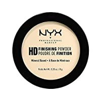 HIGH DEFINITION FINISHING POWDER - BANANA by Nyx Professional Makeup. Pressed banana powder. Based on minerals, it will fix your makeup for a long time. It has light and silky formula which perfectly spreads on skin. It also reduces visibility of ...