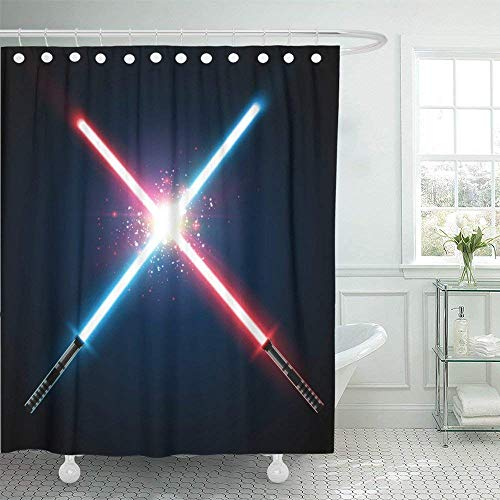 WENEOO LA Shower Curtain Polyester Print 60