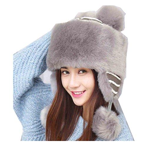 Women Russian Cossak Hat for Ladies Winter