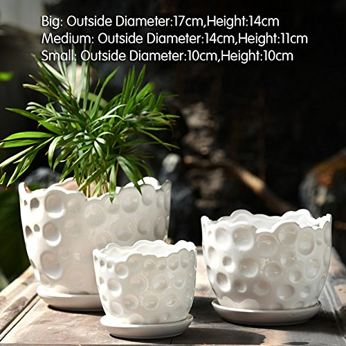 Dekorative Design Keramikplatten Pflanze Blume Pflanzer Töpfe,Keramikplatten Mit Glasur...