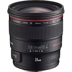 Canon EF 24 mm f/1,4 L II USM Objectif grand angle pour appareil reflex Motorisation silencieuse USM