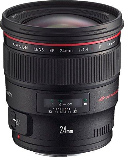 Best Canon Obiettivo EF 24 mm, f/1.4L II USM [Versione Canon Pass Italia]