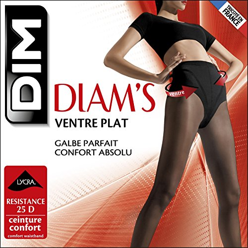 Dim Diam's Ventre Plat - Collants - Uni - 25 deniers - Femm