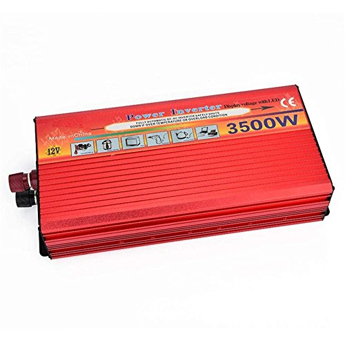 DWAN Sinuswelle Auto Power Inverter 12V bis 220V/3500W 3500w Power Inverter