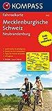 Mecklenburgische Schweiz - Neubrandenburg: Fahrradkarte. GPS-genau. 1:70000: Fietskaart 1:70 000 (KOMPASS-Fahrradkarten Deutschland, Band 3022) -