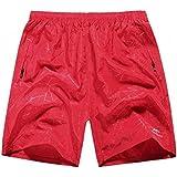 Y-BOA Pantalon Short Course Imprimé Jacquard Elastique Taille Unique