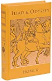 Iliad and Odyssey (Leather-bound Classics) - Homer