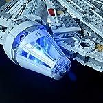 BRIKSMAX-Kit-di-Illuminazione-a-LED-per-Star-Wars-Millennium-Falcon-Compatibile-con-Il-Modello-Lego-75105-Mattoncini-da-Costruzioni-Non-Include-Il-Set-Lego